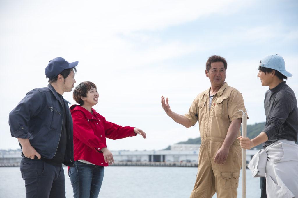トリトン・プロジェクトは、あなたと漁師をお繋ぎします。漁業に興味のある方はぜひ。
