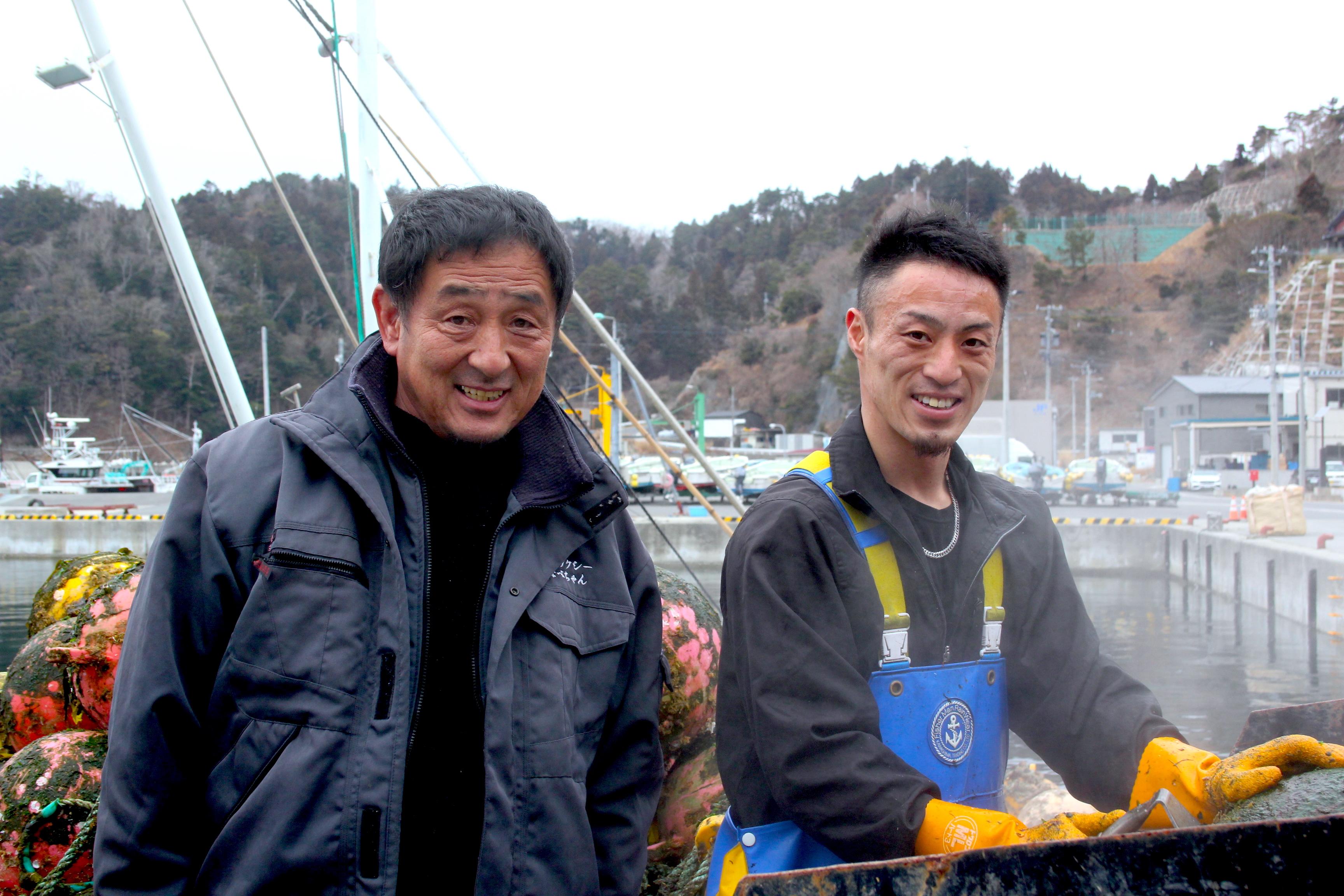 【宮城/漁師求人/養殖】「やるときは人の3倍やる」ホヤ養殖から海上タクシーまでこなす熱血親子漁師。