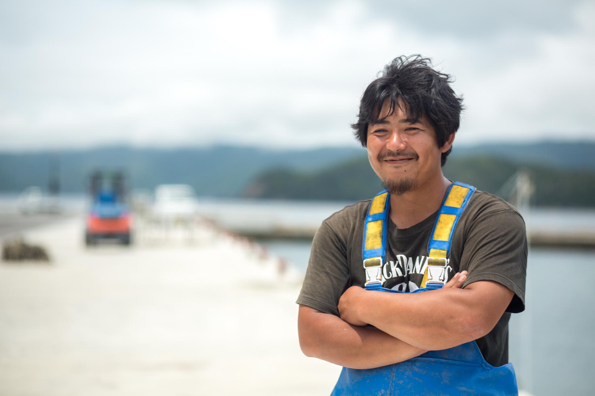 浜に活気が欲しい 独立して一緒に漁師をやらないかい