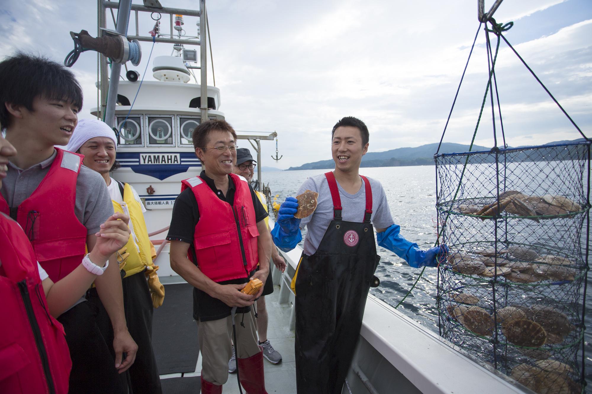 漁師の仕事を知る、短期研修プログラム開催!