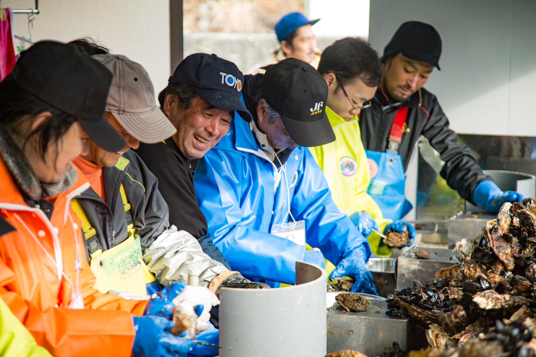 漁師の仕事を知る、短期研修プログラム「牡鹿漁師学校 × TRITON SCHOOL」第2弾開催!