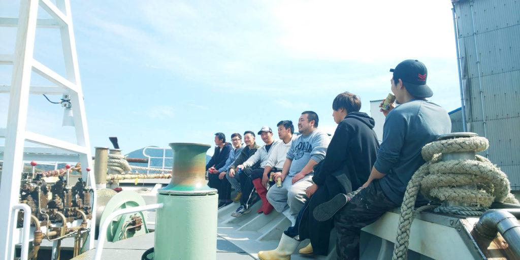 【島根/漁師求人/漁船】若く、勢いのある船団とまき網漁で海の男になろう – 有限会社共幸水産