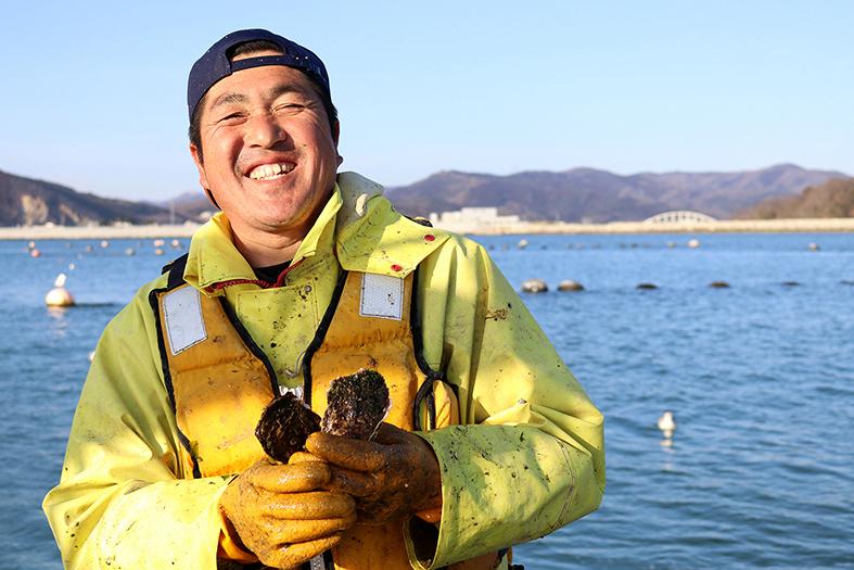 笑う門に愛がある!本田家、漁師募集。