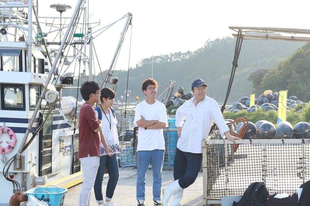 夏休み。海から始まる、フィッシャーマン・ジャパン実践型インターン