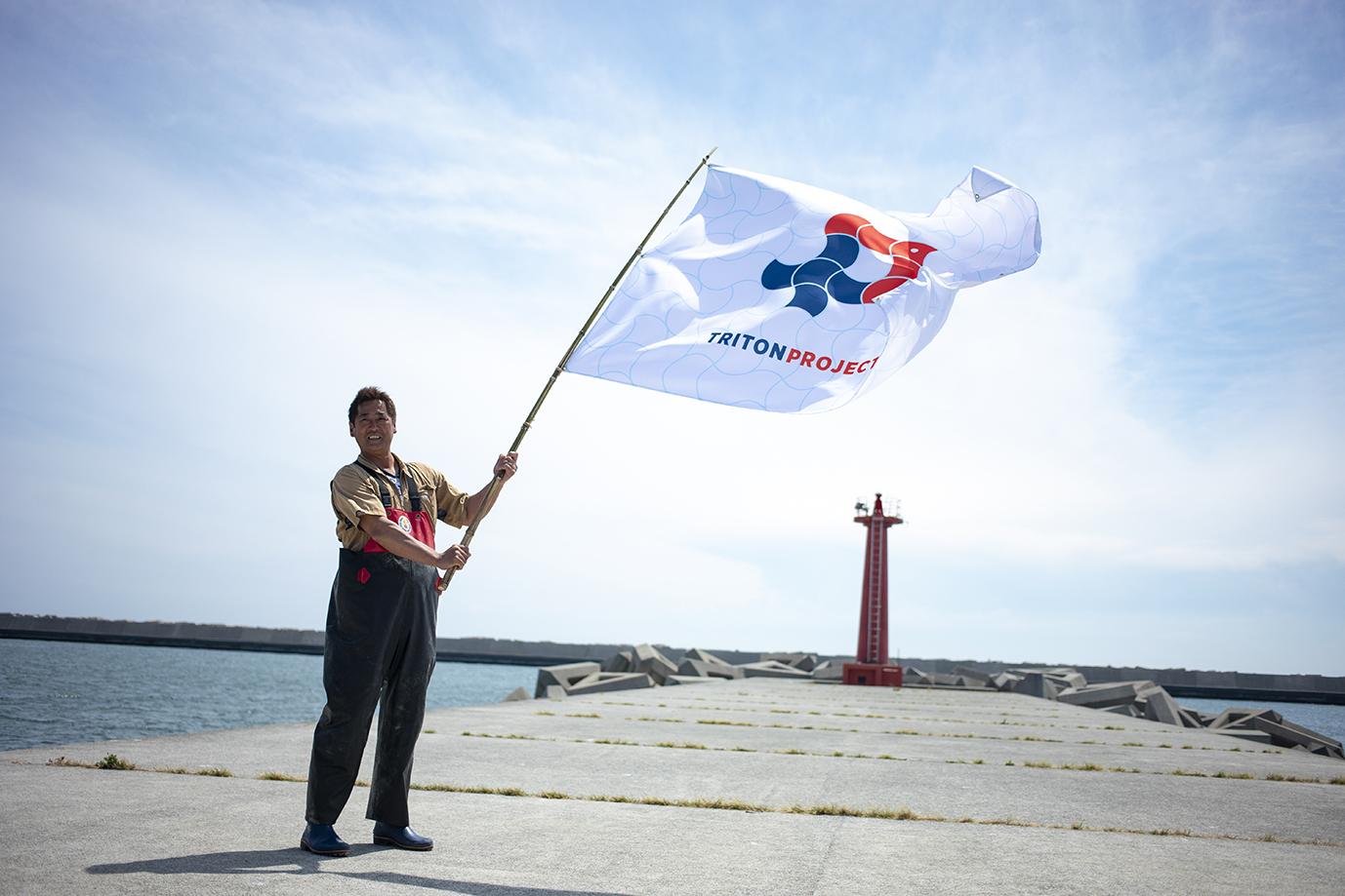 【石巻地区/海苔養殖】集え若者。希望の旗を掲げよう。