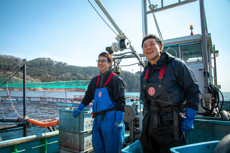 宮城の海で漁師になろう。  みやぎ漁業就業支援オンラインフェア開催!