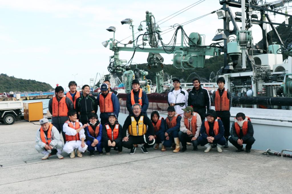 【島根/漁師求人/漁船】安全第一。島で海と一体になって暮らす – 有限会社天祐丸